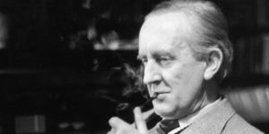 J.R.R. Tolkien, 1956 (Forrás: tolkien.co.uk)