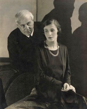 Molnár Ferenc és Darvas Lili (Fotó: PIM)
