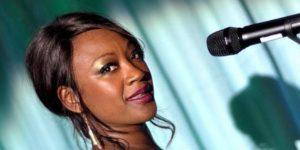 Denise Gordon swing- jazzénekes (Fotó: Müpa)