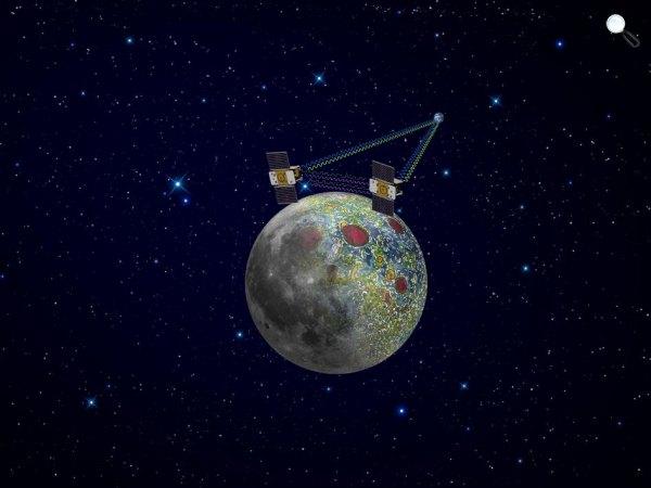 Hold rotációs és az árapályerő (Fotó: NASA / JPL-Caltech)