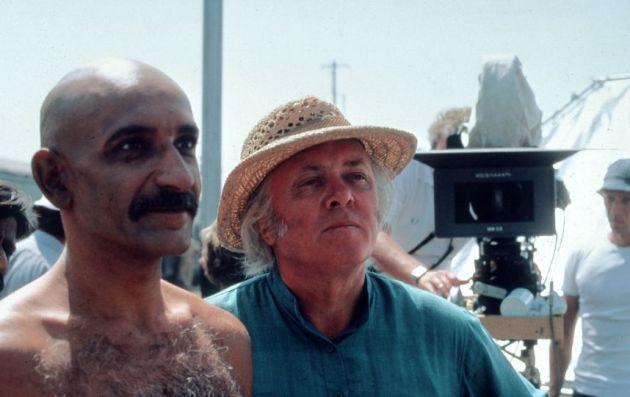 Gandhi, Richard Attenborough, Ben Kinglsey, 1982 (Fotó: Listal.com)