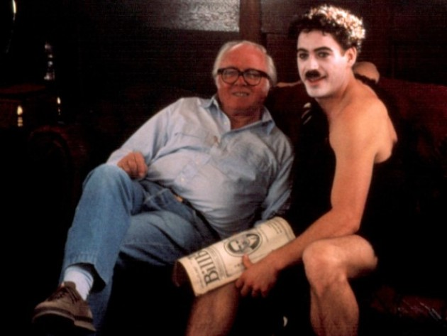 Chaplin, Richard Attenborough, Robert Downey Jr. (Fotó: Listal.com)