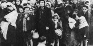 II. világháború, magyar zsidó asszonyok és gyerkekek, Auschwitz, 1944