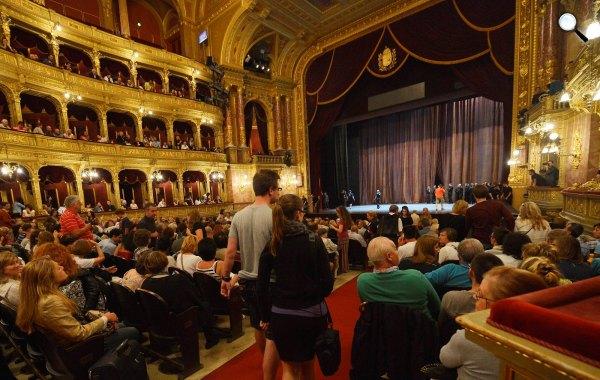 Magyar Állami Operaház (MTI Fotó: Honéczy Barnabás)