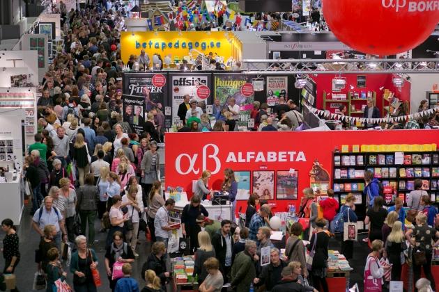 Göteborgi Nemzetközi Könyvvásár (Fotó: Niklas Maupoix)
