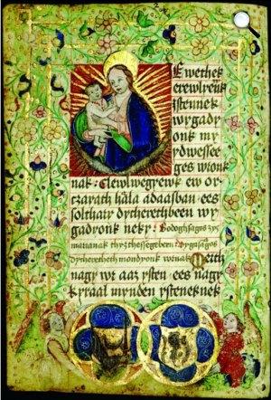 Festetics-kódex, A Napbaöltözött Asszony, 1492-1494 (OSzK)
