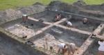 A római Brigetio település régészeti feltárása. (MTI Fotó)