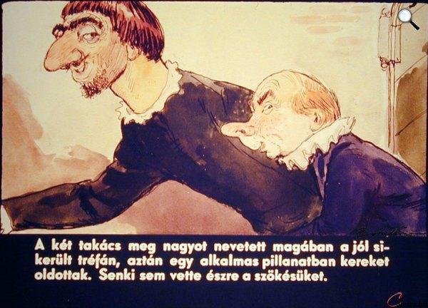 Zórád Ernő - Hans Christian Andersen: A császár új ruhája 16. (Fotó: zoraderno.hu)