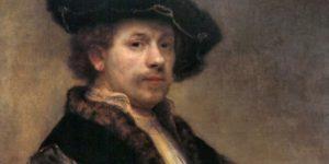 Rembrandt van Rijn: Önarckép (Fotó: Szépművészeti Múzeum)