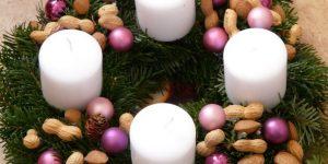 Adventi koszorú, karácsony