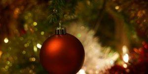 Karácsony, fa, dísz