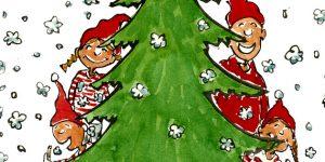 Karácsonyfa, család