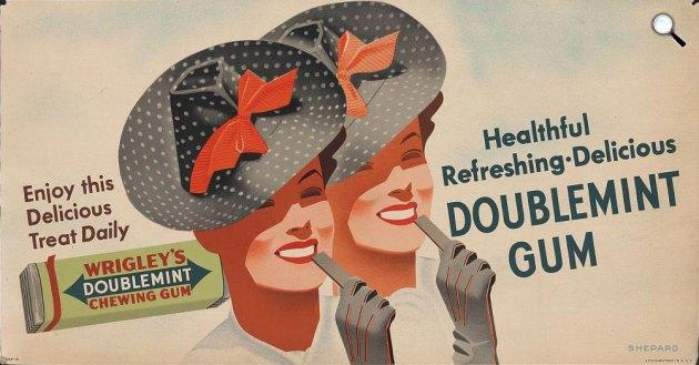 Wrigley rágógumi hirdetés (Fotó: Wrigley.com)