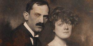 Babits Mihály és Tanner Ilona, 1921. (Fotó: Székely Aladár, OSZK)