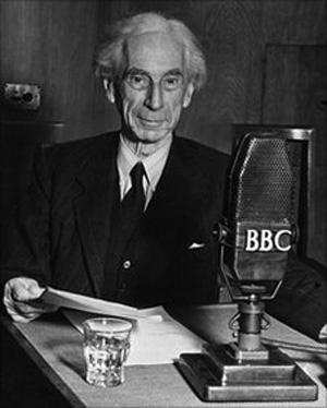 Bertrand Russell irodalmi Nobel-díjas tudós (Fotó: Wikipédia)