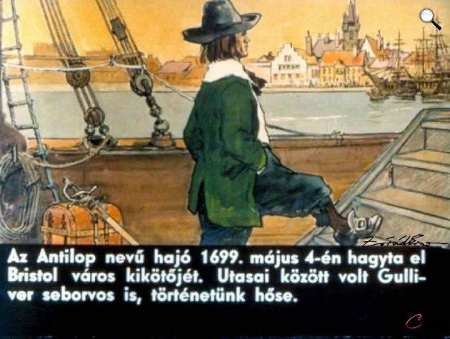 Zórád Ernő - Jonathan Swift: Gulliver Lilliputban 04 (Fotó: zoraderno.hu)