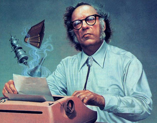 Isaac Asimov (Fotó: Babelio.com)