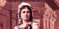 Váradi Antal: Iskarioth, Jászai Mari, 1876 (Fotó: OSZK)