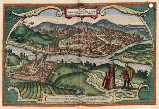 Buda a XVI–XVII. század fordulóján (Fotó: MEK/OSZK)