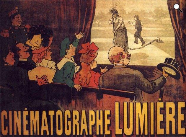Lumière: L Arroseur arrosé, Az első moziposzter,  1895 (Fotó: Wikipédia)