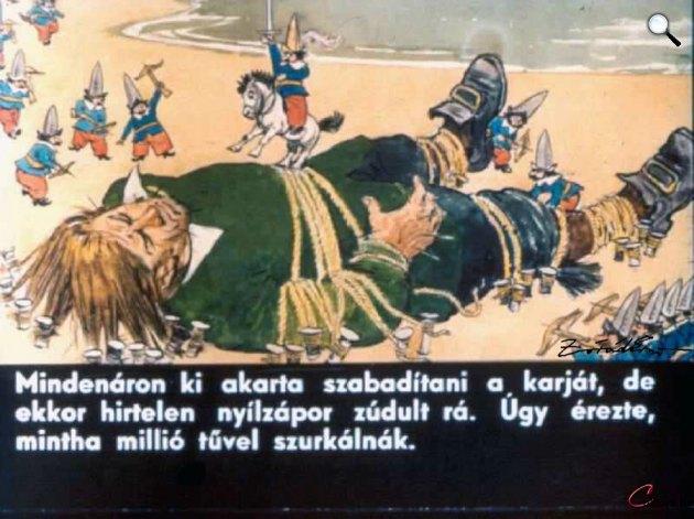 Zórád Ernő - Jonathan Swift: Gulliver Lilliputban 07 (Fotó: zoraderno.hu