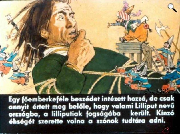 Zórád Ernő - Jonathan Swift: Gulliver Lilliputban 08 (Fotó: zoraderno.hu