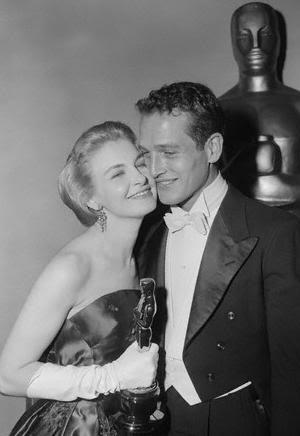 Joanne Woodward, Paul Newman, Oscar-díj (Fotó: Listal.com)