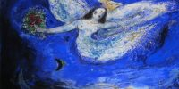 Marc Chagall: L'Oiseau de feu, rideaux du ballet (Fotó: Wikiart)