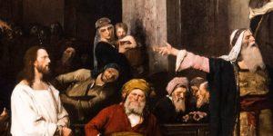 Munkácsy Mihály: Krisztus Pilátus előtt, Debrecen, Déri Múzeum - részlet (MTI Fotó: Czeglédi Zsolt)