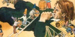 Zórád Ernő - Jonathan Swift: Gulliver Lilliputban 09 (Fotó: zoraderno.hu)