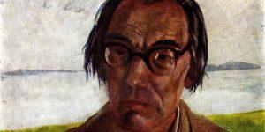 Bernáth Aurél: Szabó Lőrinc portréja, 1955 (Fotó: krk.szabolorinc.hu)