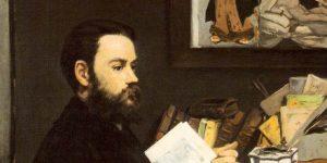 Edouard Manet: Émile Zola portréja, 1868 (Fotó: Wikiart)