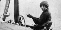 Steinschneider Lilly az első magyar pilótanő 1930 előtt (Fotó: Pesti Napló/Wikipédia)
