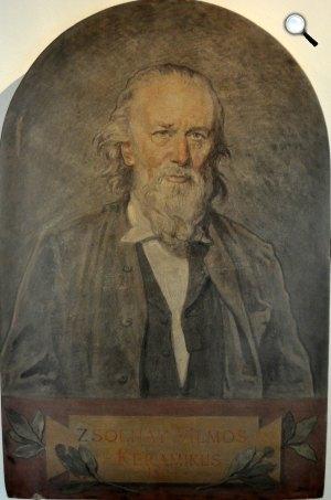 Székely Bertalan: Zsolnay Vilmos keramikus mester, 1894 (Fotó: Nemzeti Portrétár)
