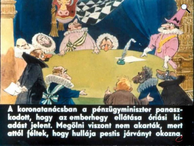 Zórád Ernő - Jonathan Swift: Gulliver Lilliputban 15 (Fotó: zoraderno.hu)