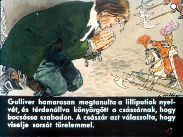 Zórád Ernő - Jonathan Swift: Gulliver Lilliputban 16 (Fotó: zoraderno.hu)