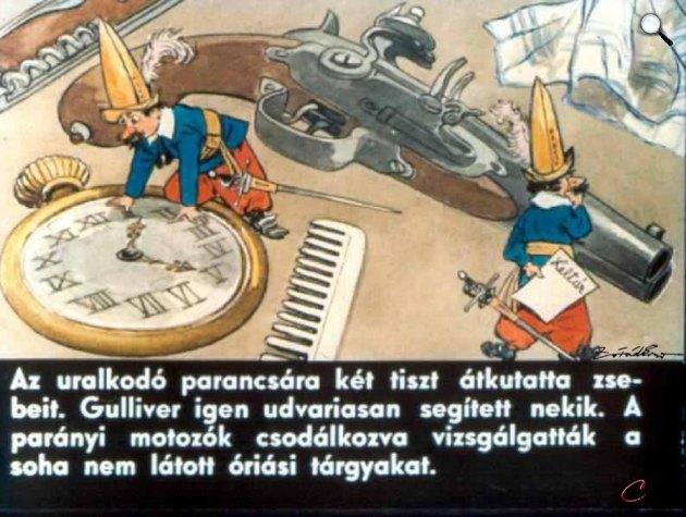 Zórád Ernő - Jonathan Swift: Gulliver Lilliputban 18 (Fotó: zoraderno.hu)