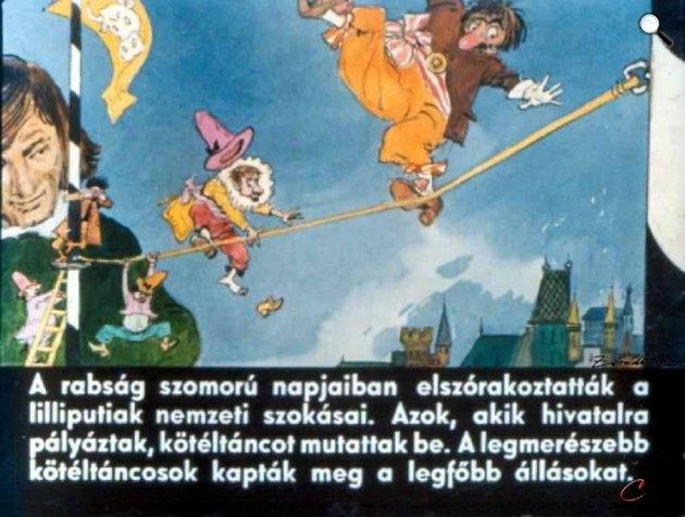 Zórád Ernő - Jonathan Swift: Gulliver Lilliputban 19. (Fotó: zoraderno.hu)