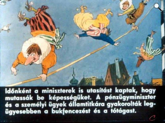 Zórád Ernő - Jonathan Swift: Gulliver Lilliputban 20. (Fotó: zoraderno.hu)