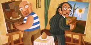 Picasso és Dalí