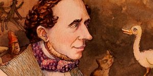 Hans Christian Andersen dán költő, regényíró, elbeszélő (Fotó: Babelio.com)