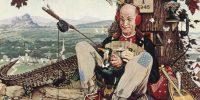 Április bolondja, Norman Rockwell 1945-ös illusztrációja (Fotó: Wikipédia)