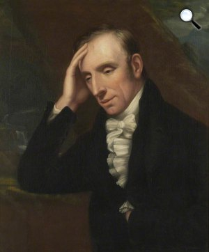 Henry Eldridge: William Wordsworth költő (Fotó: Wikiart)