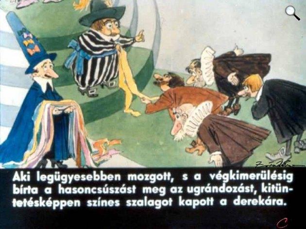 Zórád Ernő - Jonathan Swift: Gulliver Lilliputban  22. (Fotó: zoraderno.hu)