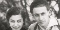 Gyarmati Fanni és Radnóti Miklós síelnek 1935-ben (Fotó: radnoti.mtak)