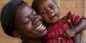 Anya és gyermeke, HIV fertőzés veszélye Afrikában