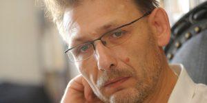 Bartis Attila író (MTI Fotó: Czimbal Gyula)
