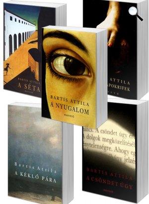 Bartis Attila-könyvek