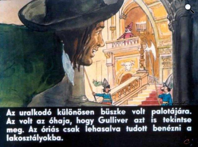 Zórád Ernő - Jonathan Swift: Gulliver Lilliputban 28. (Fotó: zoraderno.hu)