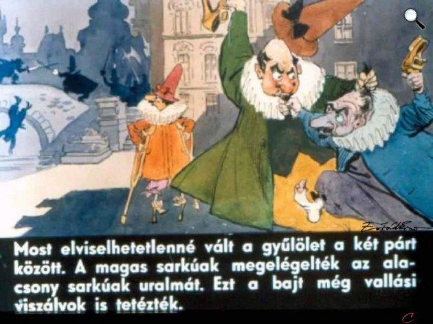 Zórád Ernő - Jonathan Swift: Gulliver Lilliputban 31. (Fotó: zoraderno.hu)